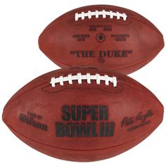 Super Bowl III Wilson Official Game Football