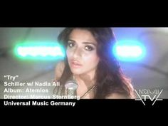 "Schiller with Nadia Ali ""Try"" Official Music Video - My absolute favorite song by my woman crush! Nadia Ali, Music Songs, My Music, Ali Official, Chill Mix, Power Metal, Song Artists, Types Of Music"