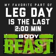 Body Beast Leg Day  Sagi Kalev puts the hurt on you! #berogue