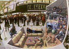 Amazing 3D Chalk Drawings | U.S. street artist Kurt Wenner, 53, created this work, called Incident at Waterloo, in London