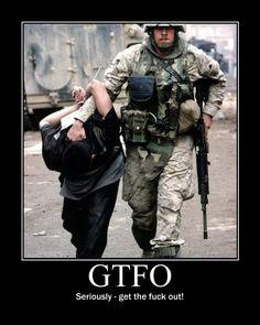 I SAID #GTFO