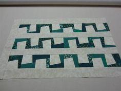 Crafty Sewing & Quilting: Make the Zig Zag Block into at Sashing