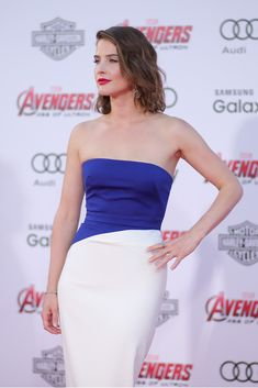 Cobie Smulders Photos - Premiere Of Marvel's 'Avengers: Age Of Ultron' - Arrivals - Zimbio