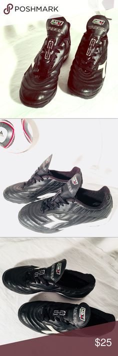"Men's Indoor Soccer Shoes Mens Diadora ""Vincent"" Soccer Shoes in size 8.5 with normal wear have many more miles to go.  Featured in other photos to bundle athletic gear together for a better price. Diadora Shoes Athletic Shoes"