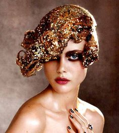 Maquillaje años 20´s-Gatsby makeup