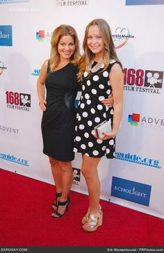 Candace Cameron Bure and Natasha Bure