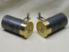 Mini Winchester AA Shotgun Shell Cufflinks  by awelldressedbullet
