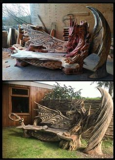 Tagged with awesome, dragon, fantasy, woodworking, carpentry;