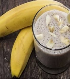 Banana Ginger Smoothie to Help Burn Stomach Fat! - Banana Ginger Smoothie to Help Burn Stomach Fat! Banana Ginger Smoothie to Help Burn Stomach Fat! - - - Weight loss experts are coming up with new innovati Fruit Smoothies, Smoothies Banane, Healthy Smoothies, Healthy Drinks, Smoothie Recipes, Healthy Snacks, Smoothie Ingredients, Stay Healthy, Healthy Weight