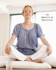 Meditation: it's not as complicated as you think! Taking the time to just breathe and relax is sure to make your day a little easier :-)