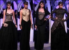 Shantanu & Nikhil collection at India Couture Week 2014.