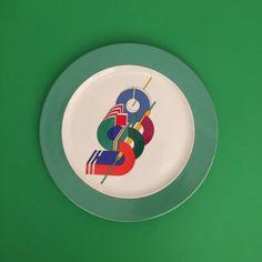 Rosenthal Studio Line Marcello Morandini   Constructivist Alphabet  '80