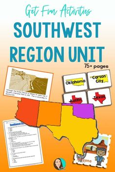 Check out these U.S. regions activities that are perfect for 4th grade.  Your students will love completing these projects while learning about the United States. Social Studies For Kids, Social Studies Projects, Social Studies Activities, Teaching Resources, Elementary Teacher, Upper Elementary, States And Capitals, Unit Plan, Travel Humor