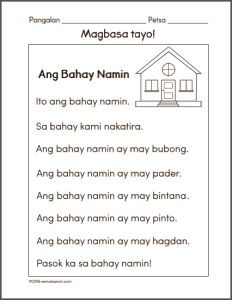 Filipino worksheets for Grade 1 Archives - Samut-samot Grade 1 Reading Worksheets, Reading Comprehension Grade 1, Reading Passages, Free Printable Worksheets, Kindergarten Worksheets, Letter Worksheets, Tagalog Words, Kindergarten Reading, Reading Material