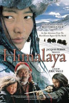 Himalaya es una pelicula de produccion Franco-Nepali