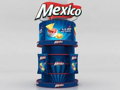 Mexico Branding by Ahmed Ismail, via Behance