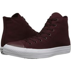 Converse Chuck Taylor All Star Tonal Plus Hi Classic Shoes, Brown ($40) ❤ liked on Polyvore featuring shoes, sneakers, brown, metallic sneakers, grip trainer, metallic high top sneakers, converse high tops and high top shoes