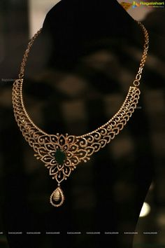 Diamond and Emerald necklace www.kristoffjewelers.com #diamonds #emeralds #necklace