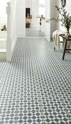 gorgeous floor pattern - would look lovely painted too