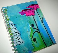 Art journal cover- Flickr