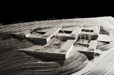 Architectural Model - Campus Corporativo de QualaMéx, MMX + Isaac Broid / México