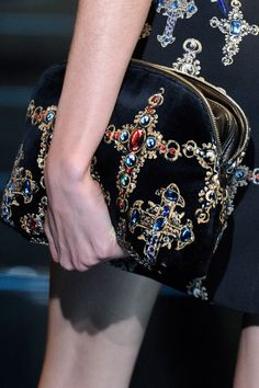 Versace Fall 2012  I would love this with black skinny pants- all about proportion