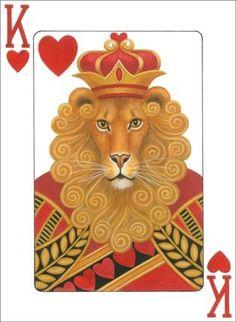 Lion King of Hearts  ~*~ Stephanie Stouffer