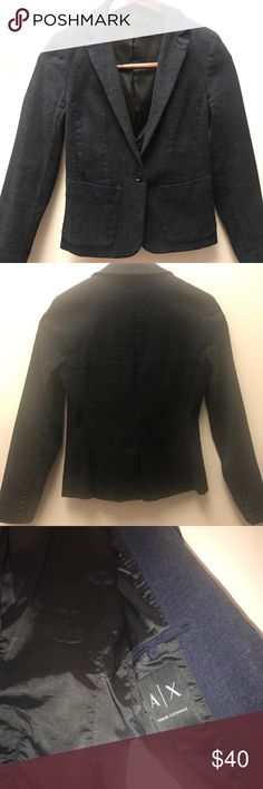 Armani Exchange short coat Authentic, short coat Armani exchange, size S A/X Armani Exchange Jackets & Coats Pea Coats