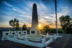 Anzac Hill in Alice Springs, Central Australia.