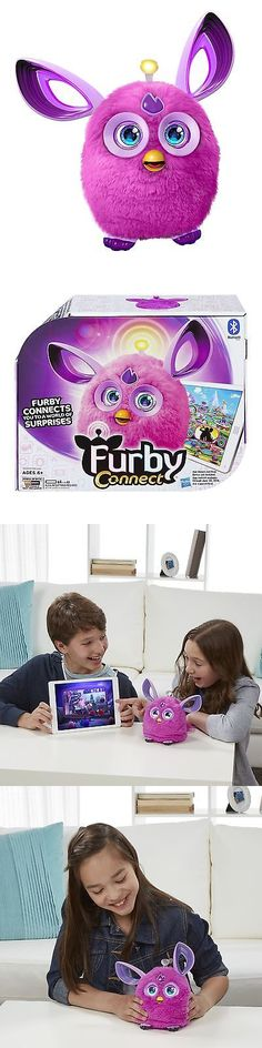 Furby 1083: Hasbro Furby Connect Friend, Purple -> BUY IT NOW ONLY: $50.32 on eBay!