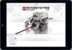 The 'Lego Education Mindstorms Programming' App is Now Available! ^ GeekMom ^ by Maryann Goldman Nova, Lego Mindstorms, New Program, Teaching Resources, Programming, Middle School, Software, Ipad, Classroom