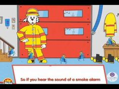 """If The Smoke Alarm Sounds"" by Sparky the Fire Dog and his Flea Friends"