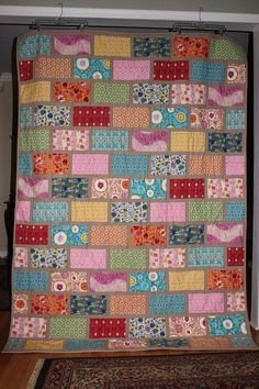 ColorBrick quilt... one of my very favorite quilts!