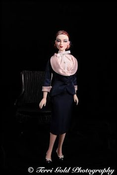 """Collecting Fashion Dolls by Terri Gold: Jamieshow Mel Odom's """"Poised for Success"""" Zita Cha..."""