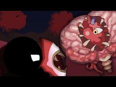 Stickman Vs Brain Of Cthulhu - Terraria Animation - YouTube