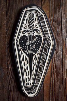 deerjerk:  Dagger Coffin. 2015