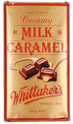 Whittaker's Creamy Milk Caramel Chocolate Caramel Chocolate Bar, Chocolate Caramels, Like Chocolate, Chocolate Treats, Chocolate Covered, New Zealand Food, Kiwiana, Candyland, Confectionery