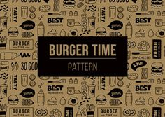 Burger Pattern pattern burger food fast food wrap paper wrapping paper food and drink burger icon restaurant burger wrap wallpaper wallpaper pattern restaurant wallpaper Burger Branding, Burger Packaging, Takeaway Packaging, Food Branding, Food Packaging Design, Restaurant Branding, Logo Food, Bakery Branding, Bakery Packaging
