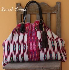 Lavish Lanna - Ethnic tote bags made from handmade vintage tribal fabric. Only on Etsy.