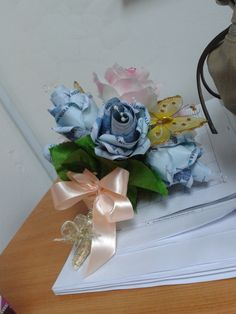 Hand Bouquet Mas Kahwin for Ina JB State