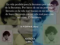 De Diarios, Alejandra Pizarnik
