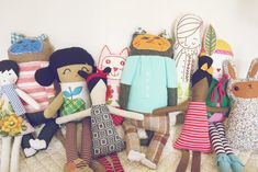 Great list of handmade doll sellers/makers