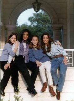 Princess Iman, Abeer Muhaisin, Princess Raiyah & Princess Haya