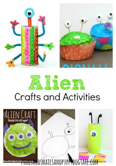 Alien Crafts and Activities for kids - FSPDT