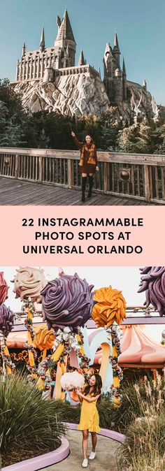 There's definitely more than 22 Instagrammable photo spots at Universal Studios Orlando but these are the best!
