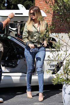 Khloe Kardashian Street Style | http://camile.se/khloe-kardashian-street-style/