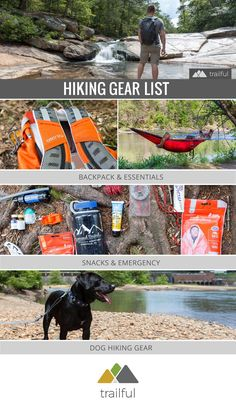 Hiking gear list: our favorite backpacks, emergency and safety gear that we pack for adventures in the South