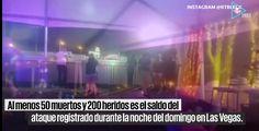Suman 50 muertos en tiroteo en Las Vegas durante festival de música | El Puntero