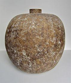 Claude Conover Large Stoneware Slab Built Ceramic Vessel Studio Pottery | eBay