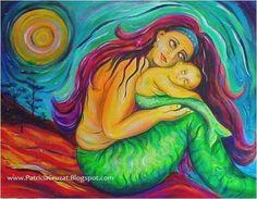DOS CON OJOS ABIERTOS 100 x 80 cm http://www.patriciacruzat.blogspot.com/